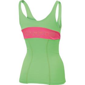 Karpos Fast - Camiseta sin mangas running Mujer - verde